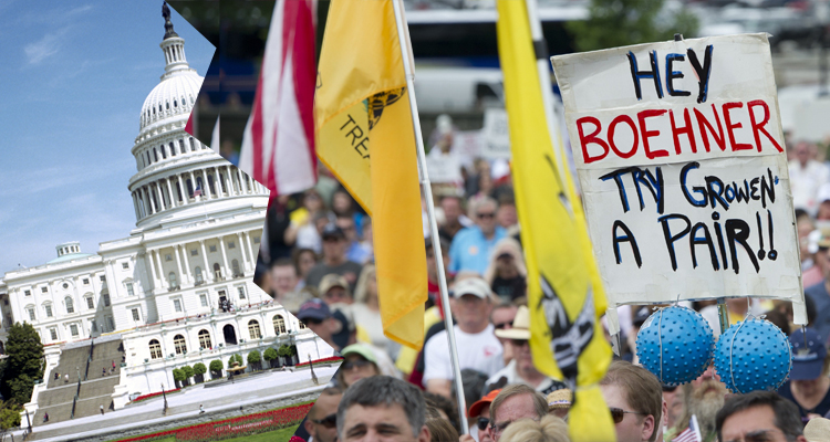 Tea Party Leaders Predict A Split From The Republican Party This Year
