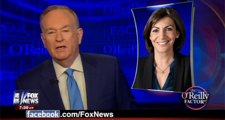 Bill O'Reilly Leads The Latest Fox News Round Of Insults Against The French – VIDEO