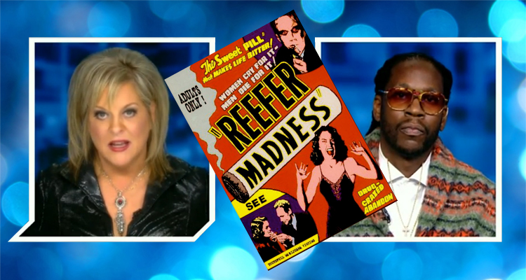 Nancy Grace Gets Schooled By 2 Chainz In Bizarre Debate About Marijuana Legalization – VIDEO