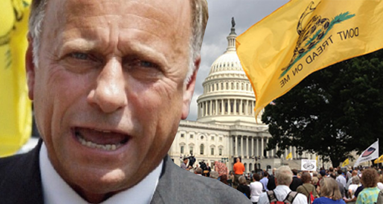 Tea Party Favorite Rep. Steve King Slammed After Posting Bigoted Tweet