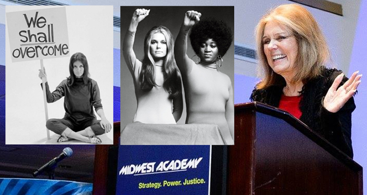 Gloria Steinem On Feminism, Millennials & Violence Against Women (VIDEO)