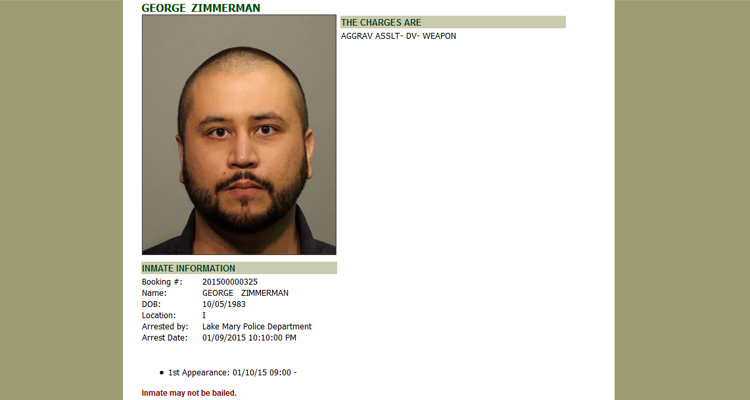 UPDATED: George Zimmerman Released On Bond, Ordered Not To Have Contact With Victim