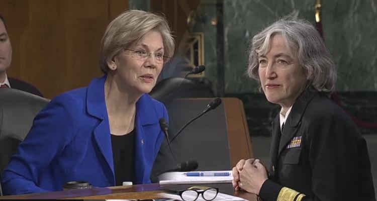 Elizabeth Warren Smacks Down Vaccine Conspiracy Theorists 8 Different Ways – VIDEO