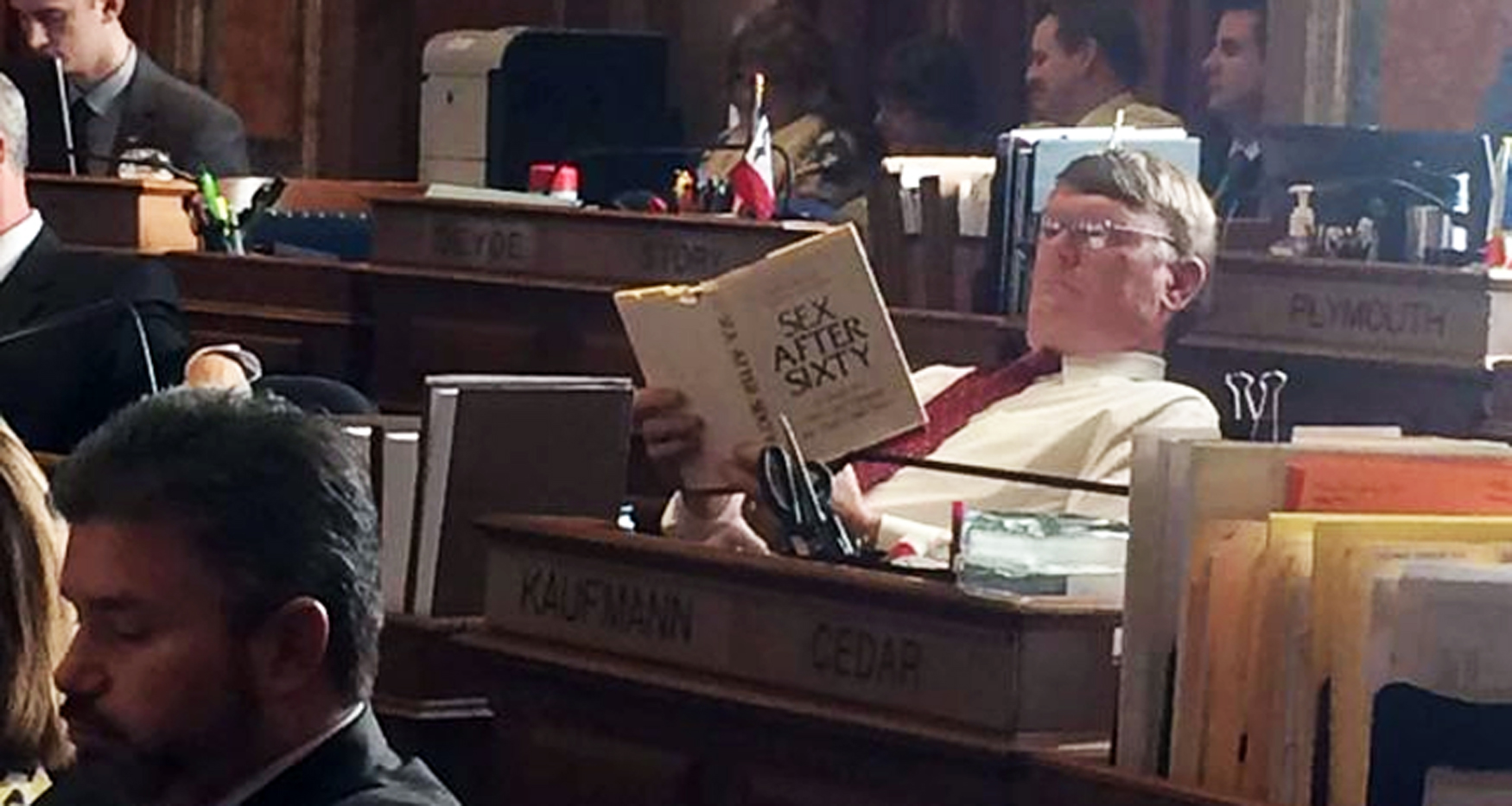 Iowa House Member Reads Sex Book During Floor Debate