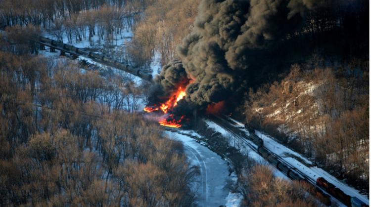 "Best Argument For Renewables: Another ""Safe"" Rail Car Explosion"