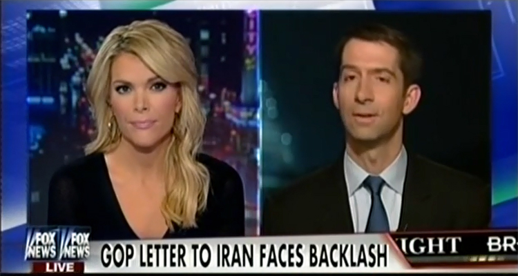 Megyn Kelly Grills Tom Cotton, Iranians Said 'Pffft, Whatever' About Your Letter – VIDEO