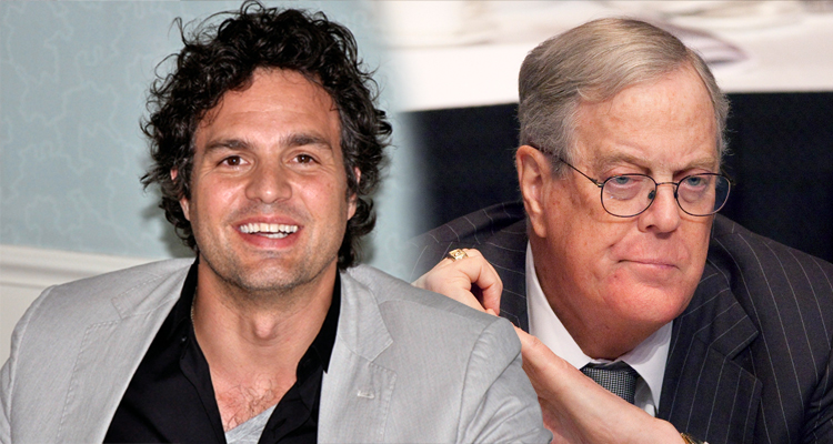 Mark Ruffalo Goes to War With Billionaire David Koch