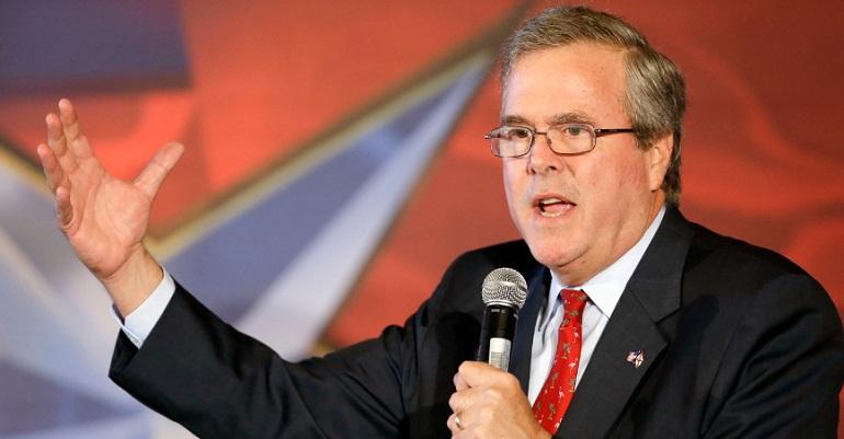 Jeb Bush Says We Should Abolish The Federal Minimum Wage (VIDEO)