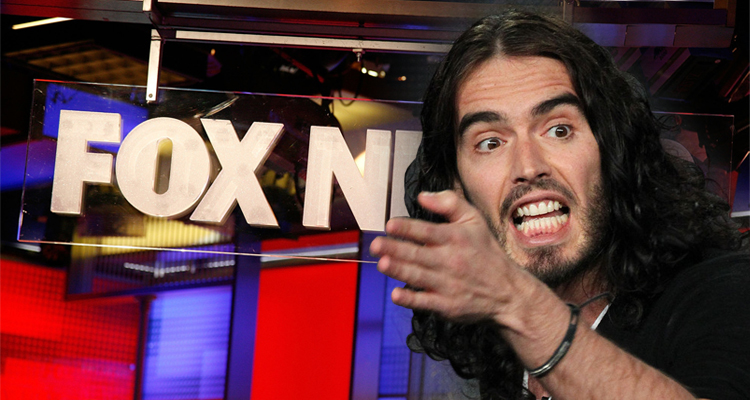 Fox News Can't Discuss Mental Illness Because They Create It: Russell Brand – VIDEO
