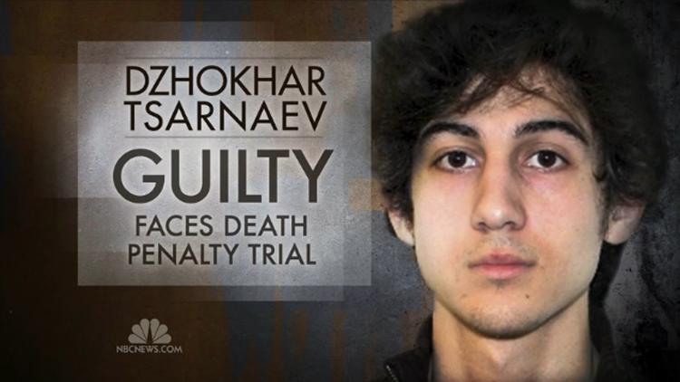 Verdict Reached In Death Penalty Trial Of Boston Marathon Bomber