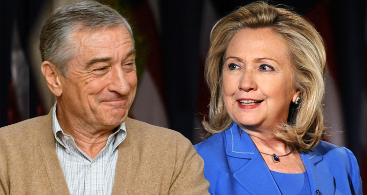 Robert De Niro Endorses Hillary Clinton – It's Time For A Woman President