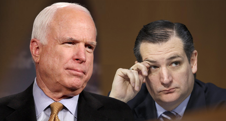McCain Delivers A Knockout Blow To Ted Cruz For Lying, Enlists Help Of Reporters In Shaming Him