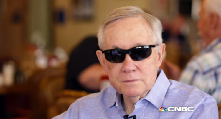Harry Reid: GOP Candidates 'Losers,' Mitch McConnell A 'Lump Of Coal,' Limbaugh No Credibility- VIDEO
