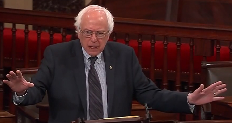 Bernie Sanders Blasts The TPP/Trans-Pacific Partnership In Congress – VIDEO