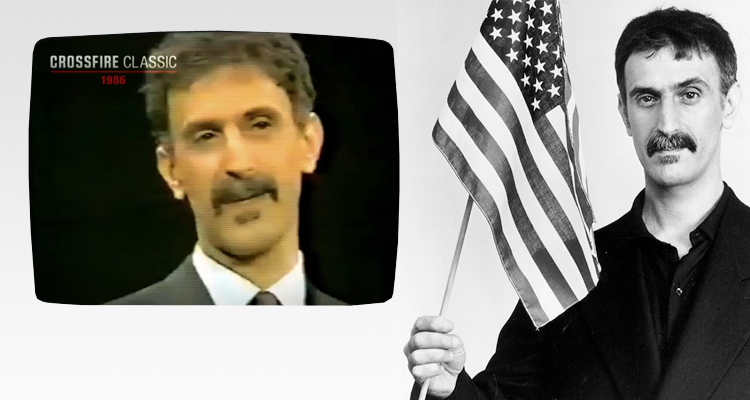 Frank Zappa Warned Us Of A Fascist Theocracy In 1986 (VIDEO)