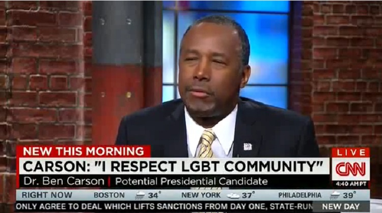 Ben Carson On LGBT Community: A More Protected Class Than Christians (VIDEO)