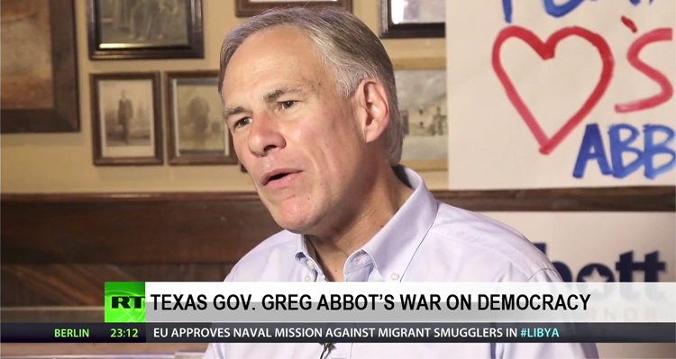 Greg Abbott Chooses Big Business Over Democracy – VIDEO