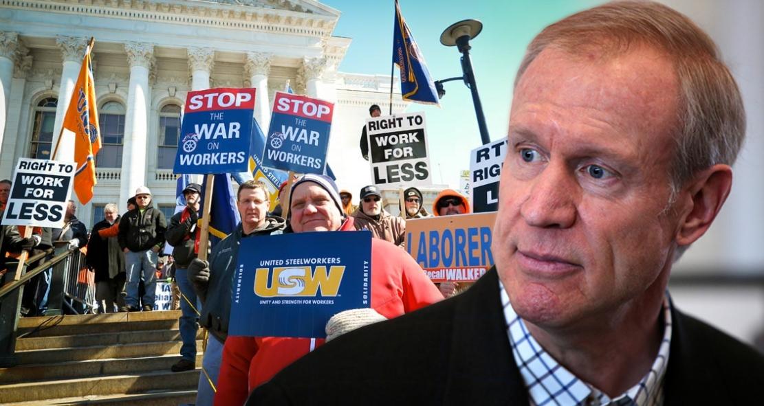 Union, Union, Union! Illinois Republican Governor Gets ZERO Votes On His 'Right To Work' Bill