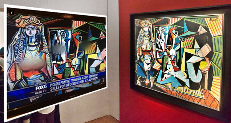 FOX Slammed For Blurring 'Naughty Bits' Of Picasso Painting Sold At Auction