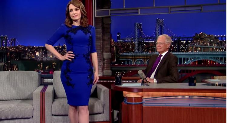 Tina Fey's #LastDressEver (Video)