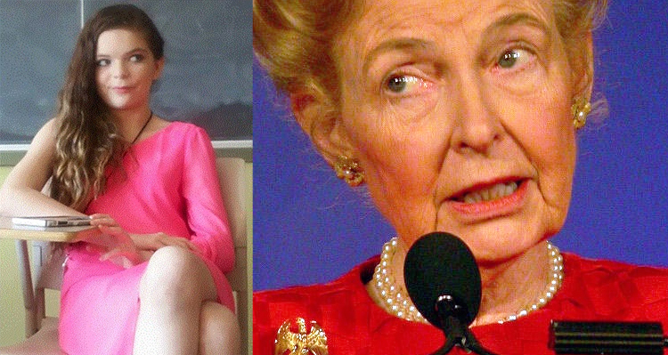 Phyllis Schlafly Gets Shredded By Madison Kimrey In Her Latest Open Letter