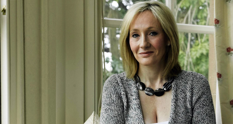 J.K. Rowling's Powerful Message For Anyone 'Wanting To Give Up'