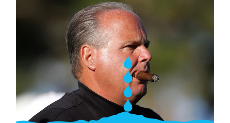 Republican Extremist Rush Limbaugh Watches Another Major Radio Station Unplug His Hate