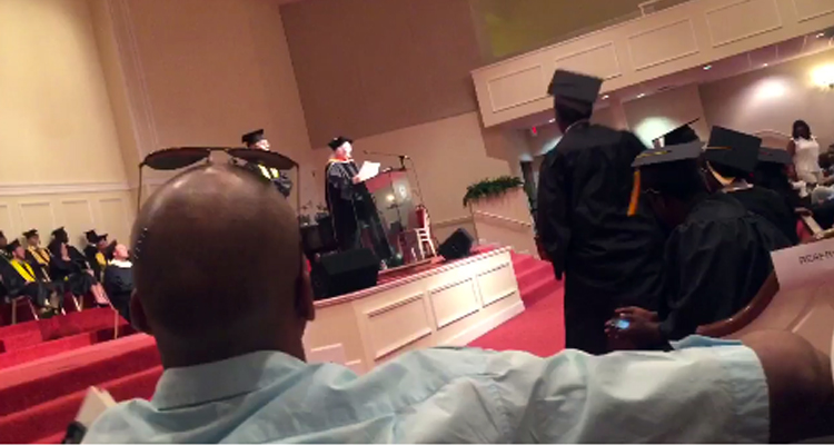 Principal Blames Satan For Racist Outburst During Graduation Ceremony – VIDEO