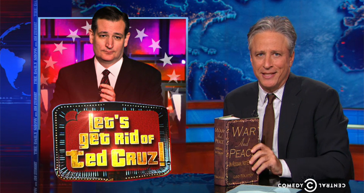 Play Let's Get Rid Of Ted Cruz With Jon Stewart – Video