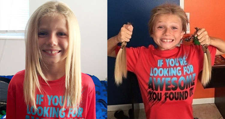 Bullied and Teased – Boy Grows out Hair to Donate to Kids in Need – VIDEO