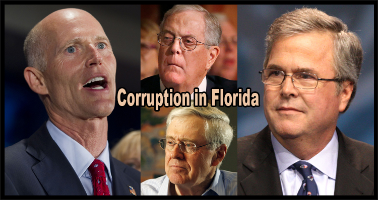 UPDATE – New Legal Action Further Exposes Jeb Bush, Koch Brothers & Rick Scott GP Scandal