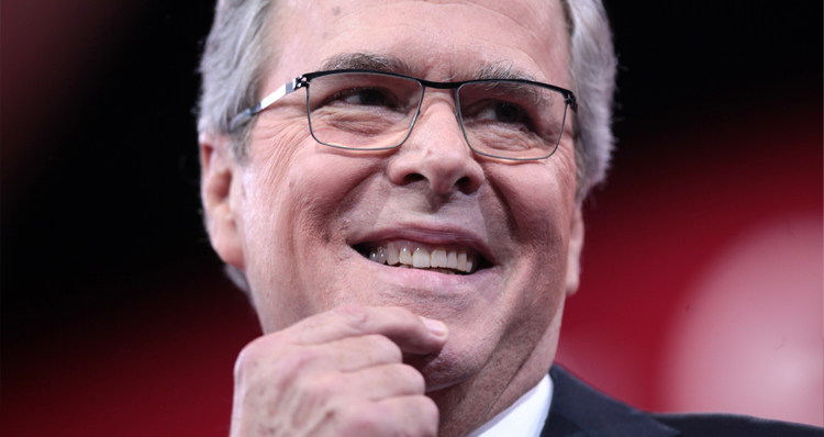 Jeb, The Smart Bush, Doesn't Know If Attack Was Racially Motivated