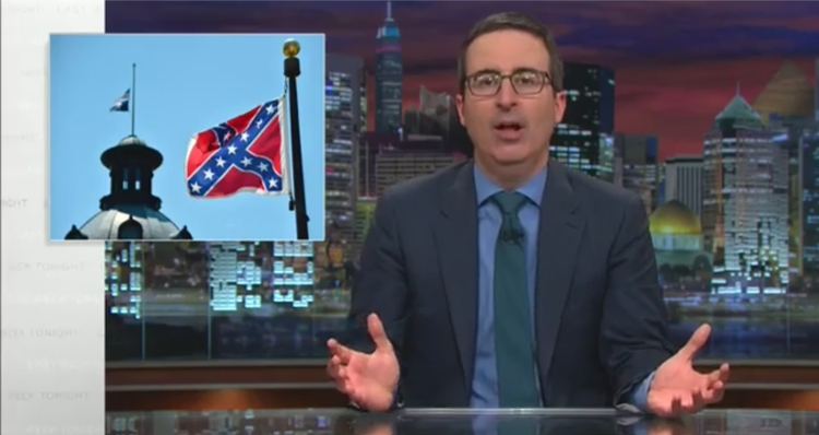 John Oliver Offers A Perfect Suggestion For South Carolina's Confederate Flag – VIDEO