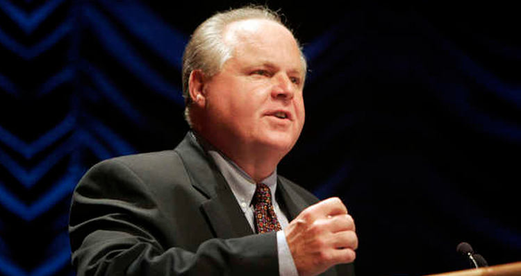 GOP Talking Head Rush Limbaugh Demoted Again – Boycotters Cheer