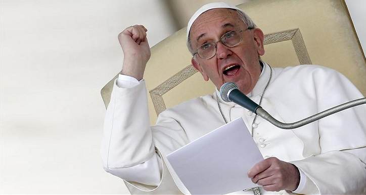 Pope Calls Corporations 'Bloodsuckers' For Exploiting Workers