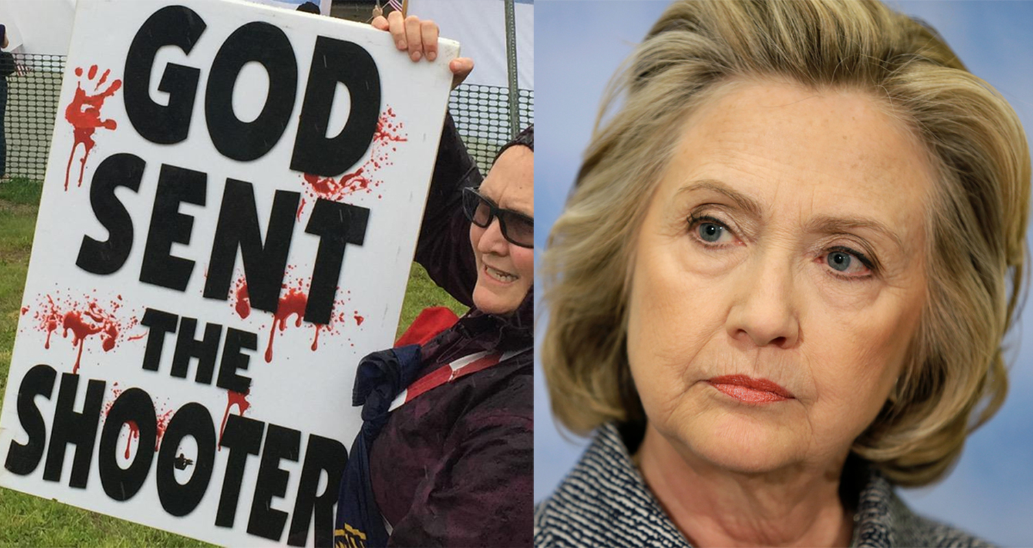 Westboro Baptist Church Blames Hillary Clinton For The Charleston Tragedy