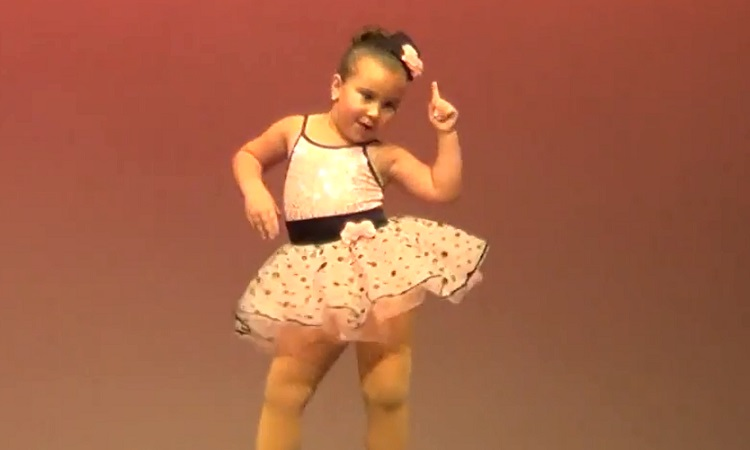 Adorable Little Girl Steals The Show With Her Sassy Moves In Viral Video