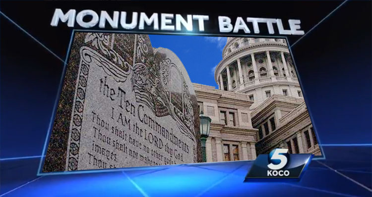 10 Commandments Statue Must Be Removed From Oklahoma Capitol – VIDEO