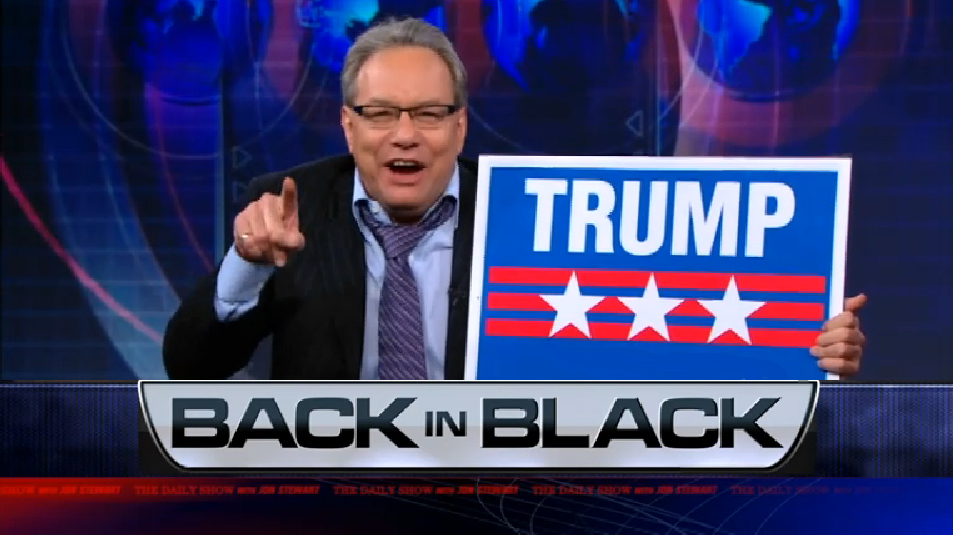 Lewis Black's Hilarious 2012 Trump Endorsement – VIDEO