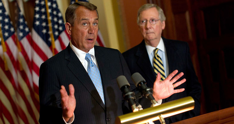 Conservatives – Boehner And McConnell 'Destroying The Party From The Top'