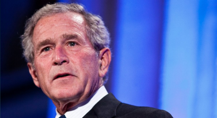 George W. Bush Charged $100,000 To Speak At Veterans Event -VIDEO