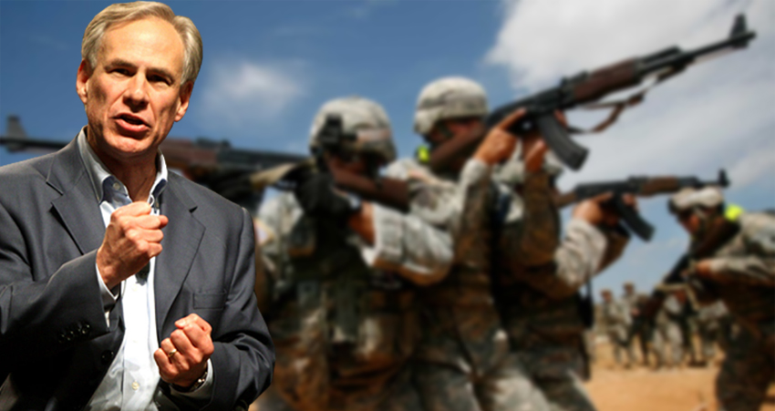 Governor Abbott Orders Arming Of Texas National Guard
