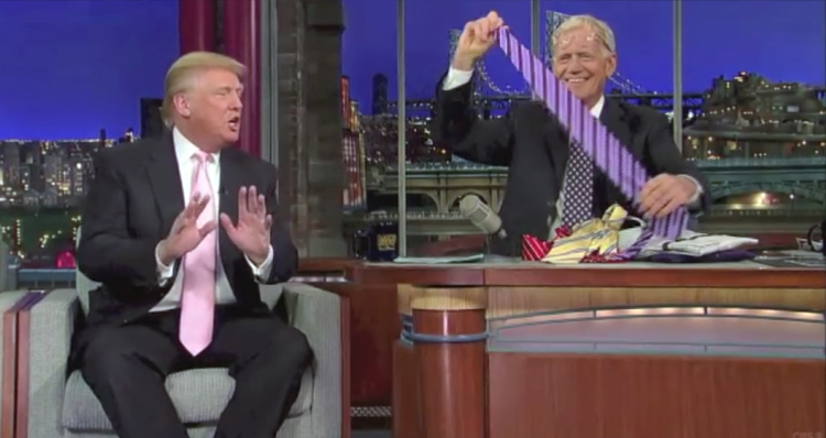 Crowd Cheers As David Letterman Busts Donald Trump On Hypocrisy, Racism & Ignorance – VIDEO