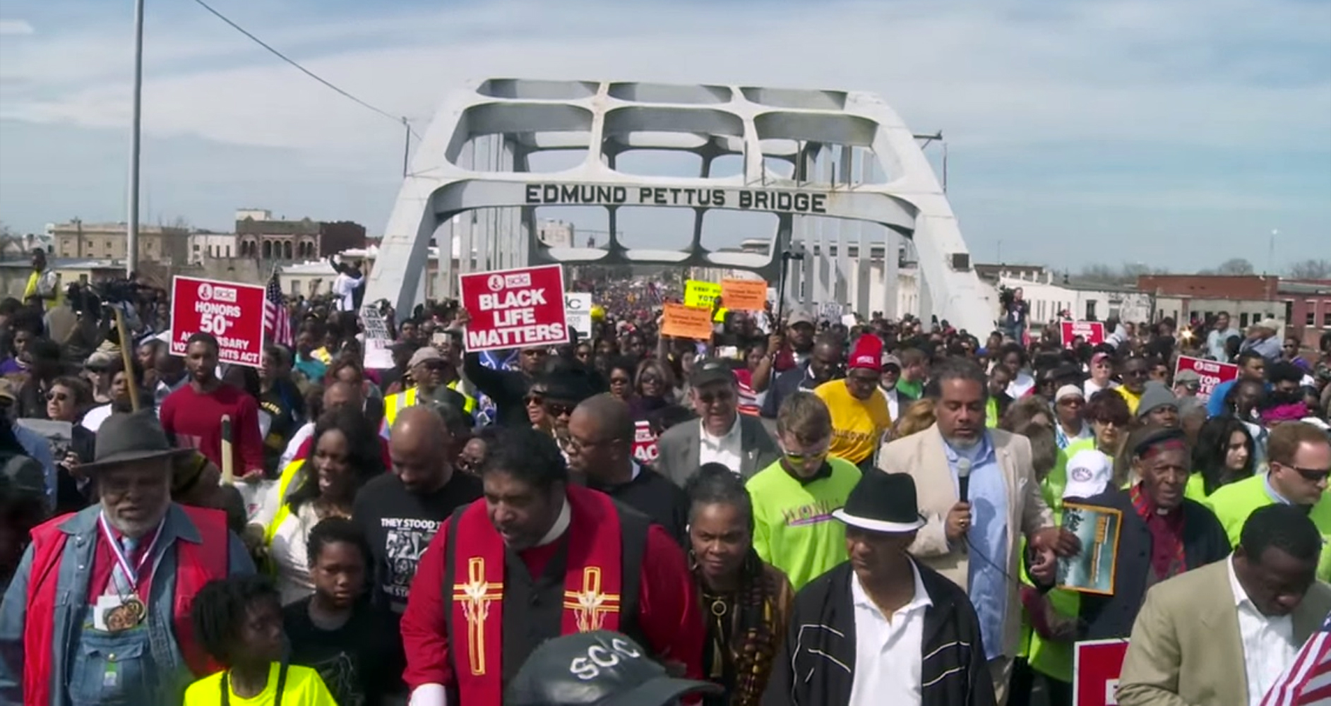 Mass Moral Monday March For Voting Rights – VIDEO