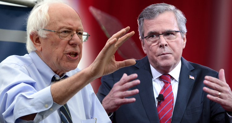 Bernie Sanders Delivers A Knockout Punch To Jeb Bush