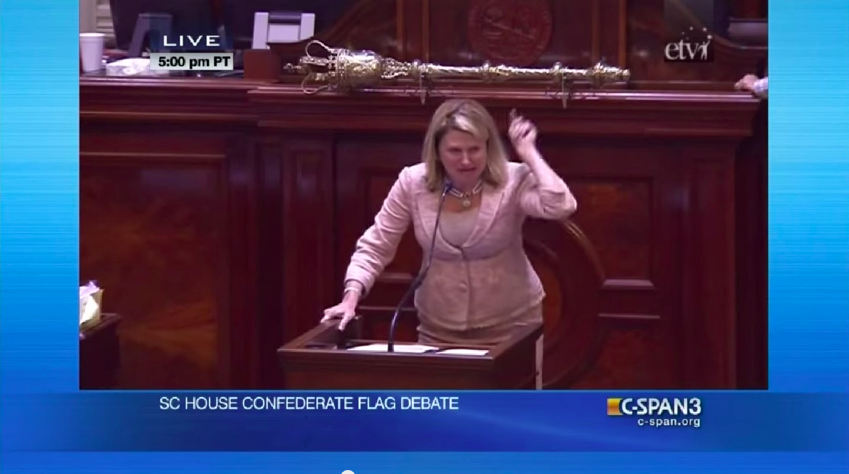 Powerful Speech That Helped Turn The Tide: South Carolina Confederate Flag Debate – VIDEO