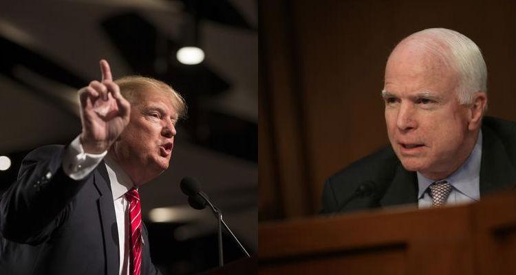 Trump: John McCain Is A Dummy