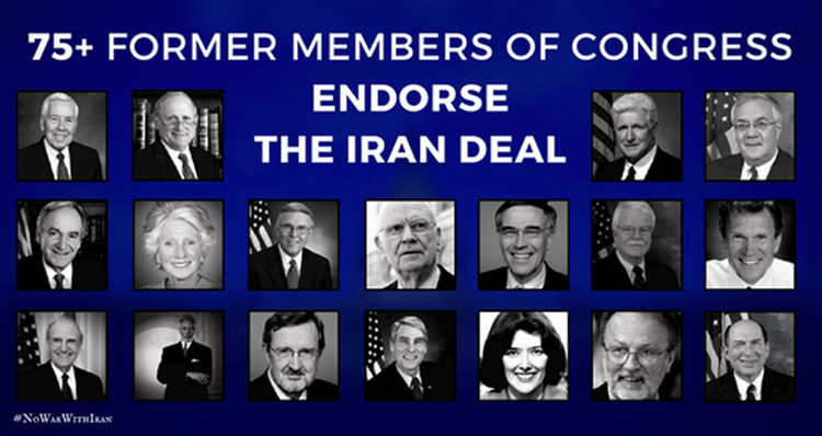 75+ Former Democratic & Republican Congress Members Sign Iran Deal Endorsement – Support Swells