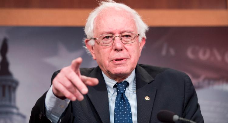 Bernie Sanders Takes On The Media – VIDEO