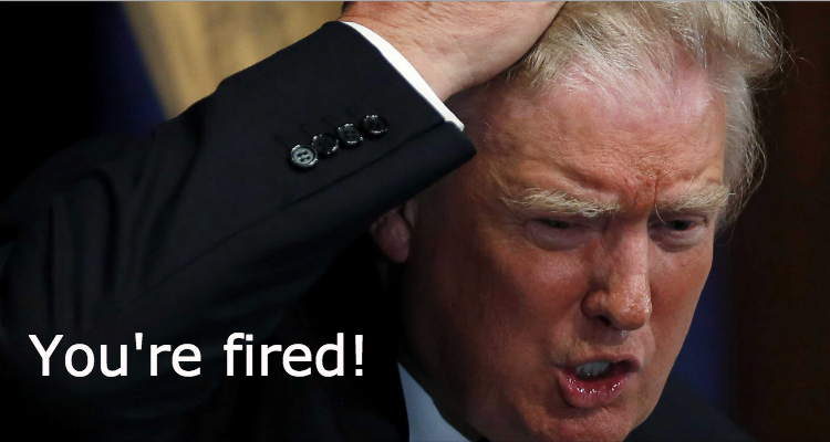 NBC To Trump: You're Fired!